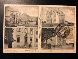 Rédange S. Attert * Palais De Justice, École Communale, Postes & Télégraphes, Gendarmerie - Cartes Postales