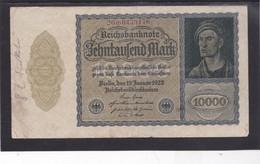 Reichsbanknote 10 Duizend Mark, Derde Rijk - [ 3] 1918-1933 : République De Weimar