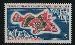 T.A.A.F. // 1972 // Timbre No. 45  Y&T Neuf** MNH, Poisson - Neufs