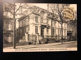 Société Générale Alsacienne De Banque * Agence De Luxembourg * Cachet Useldange - Luxembourg - Ville
