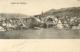 Suisse Gruss Aus Schwyz   -   Réf 1789 - SZ Schwyz