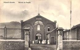 Flémalle-Grande - Maison Du Peuple (animée...dos Abimé) - Flémalle