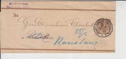 Germany Empire Around 1880 Cover/postcard/rapper    (Germany-3) - Germany