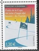 FRENCH ANDORRA, 2019, MNH, SPORTS, SKIING, FINALS OF WORLD CUP ALPINE SKIING, 1v - Sci