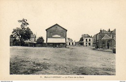 D62  GRENAY  La Place De La Gare - Autres Communes