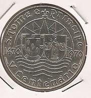 SAO TOME PRINCIPE SAINT THOMAS AND PRINCE 50$ ESCUDOS 1970 SILVER 18.0000 G., 0.6500 RARE - Sao Tome And Principe