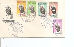 Togo -Indépendance ( FDC De 1961 à Voir) - Togo (1960-...)