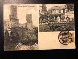 1909 Useldange - Useldingen * Tours Du Château, Jardinage - Cartes Postales