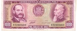 Peru P.105 1000 Soles 1972 Xf++ - Perú
