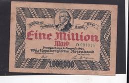 Reichsbanknote 1 Miljoen Mark, Derde Rijk - [ 3] 1918-1933 : République De Weimar