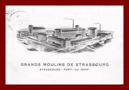 Grands Moulin De Strasbourg   (scan Recto Et Verso ) - Strasbourg