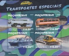MOZAMBIQUE>HOVERCRAFT>BUS>BUGGY>SNOW PLOW - Transport