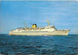 CPA-Vers 1960-GRECE-FERRY M.S.EGNATIA-Cie HML-Hellenique Mediterraean Lines-ITALIE/GRECE-BE - Ferries