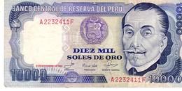 Peru P.120  1000 Soles 1981 Xf-au - Perù