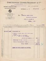 HYERES - VAR - MACHINES A TRAVAILLER LE BOIS - DURAND ET BOUSQUET - Francia