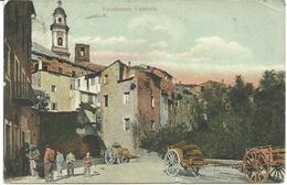 COLOURED POSTCARD - VALLEBUONA - THE ENTRANCE - GENOA - ITALY - Postally Used 1922 - Genova (Genoa)