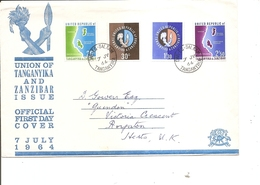 Zanzibar ( FDC De 1964 à Voir) - Zanzibar (1963-1968)