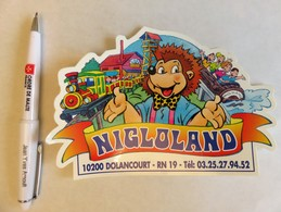 Autocollant PETIT NIGLOLAND - Autocollants