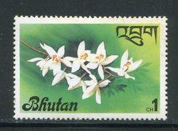 BHOUTAN- Y&T N°508- Neuf Avec Charnière * (fleurs) - Bhoutan