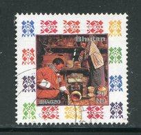 BHOUTAN- Y&T N°1101- Oblitéré - Bhoutan