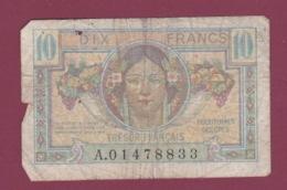 100619A - BILLET Trésor Français Territoires Occupés 10 Dix Francs A01478833 - Moisson Fauchage - Tesoro