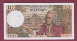 100619A - BILLET BANQUE DE FRANCE DIX FRANCS Voltaire 4 4 1968 - 10 F 1963-1973 ''Voltaire''