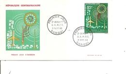 Centrafricaine - UAMPT  ( FDC De 1963 à Voir) - Centrafricaine (République)