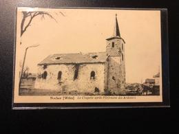 Nocher (Wiltz) La Chapelle Après L'offensive Des Ardennes - Cartes Postales
