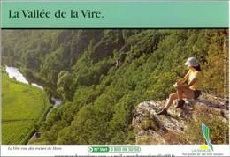 (50). La Manche Vallée De La Vire Vue Des Roches Du Ham - Francia