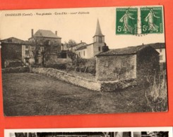 TSH-10 Chazelles Cure D'Air. Affranchissement Frontal 1913 - Frankreich