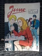 June Bimestriel N°19: Accepte-moi.;;/ Collection Roses Blanches, Arédit, 1975 - Kleinformat