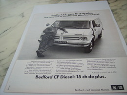 ANCIENNE PUBLICITE BEDFORD CAMION FORD  1975 - Trucks