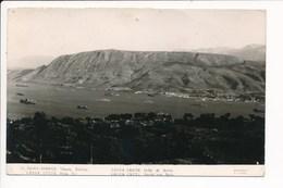 Carte Canea , Crète Suda Bay Golfe De Souda ( Format C.P.A )( Recto Verso ) - Grèce