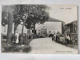 Ugny. Le Moulin. Animée. Enfants - Autres Communes