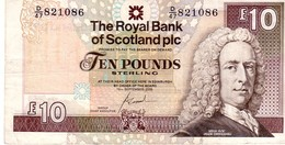 Scotland P.353 10 Pounds 2006  Vf - [ 3] Escocia