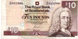 Scotland P.353 10 Pounds 2006  Vf - Scozia