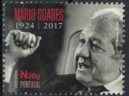 Portugal 2017 Sans Gomme Used Europa Président De La République Mário Soares SU - 1910-... République