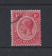 JAMAICA....KING GEORGE V....(1910-36).....1d....SG58a......USED.. - Jamaica (...-1961)