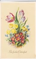 AK Ein Frohes Osterfest - Tulpen Blumen - Stempel Nachträglich Entwertet - 1958 (41713) - Ostern
