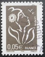 FRANCE Marianne De Lamouche N°3754b Légende ITVF Type II Fleur Blanche Oblitéré - 2004-08 Marianne Van Lamouche
