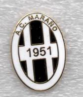 AC Marano Vicentino Calcio Distintivi FootBall Soccer Pin Spilla Italy - Calcio