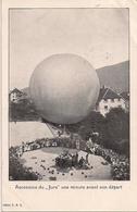"Aviation - Ballon ""Le Jura"" Louis Kaiser - St-Imier - Superbe Et Rarissime - Dirigibili"
