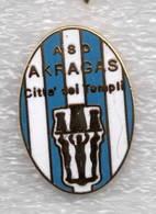 ASD Akragas Città Dei Templi Agrigento Calcio Distintivi FootBall Soccer Pin Spilla Italy - Calcio