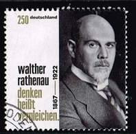 Bund 2017, Michel# 3333 O 150. Geburtstag Walther Rathenau - BRD