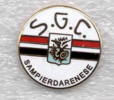 SGC Sampierdarenese Genova Sampierdarena Distintivi FootBall Soccer Pin Spilla Italy - Calcio