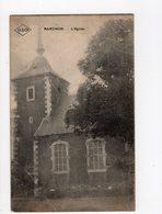 40 - BARCHON - L'église   *oblitération Relais * - Blégny