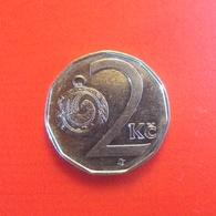 2 Kronen Münze Aus Tschechien Von 1993 (vorzüglich) - Tsjechië