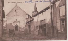 57 - CATTENOM - RUE ET EGLISE - France