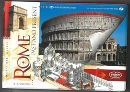 Rome Past And Present With Reconstructions - Esplorazioni/Viaggi