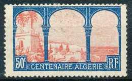 [804038]TB//*/Mh-c:3e-N° 263, 50c Bleu Et Rose, Algérie, */mh Légère - Ungebraucht